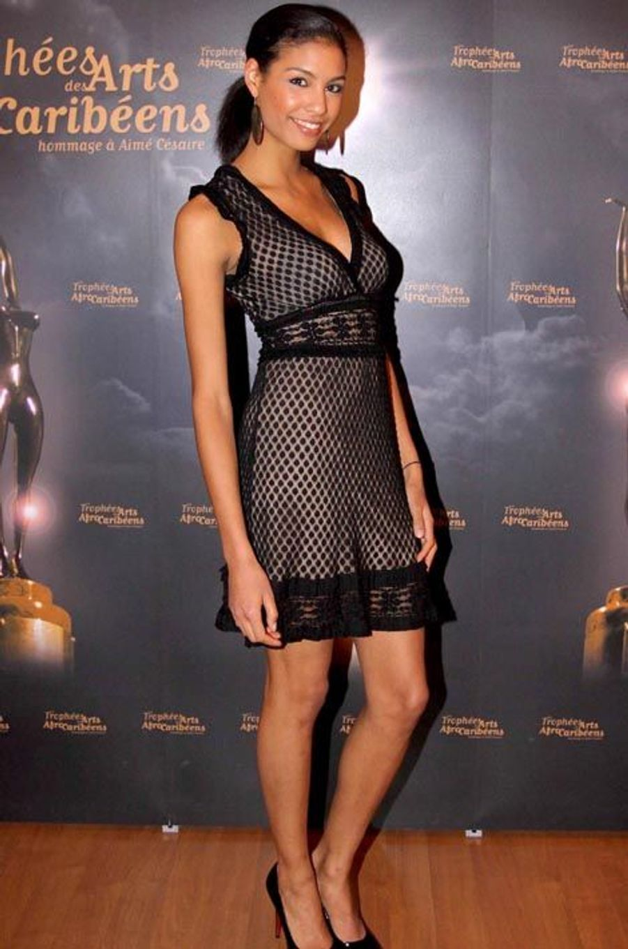 La Miss France 2009 Chloé Mortaud