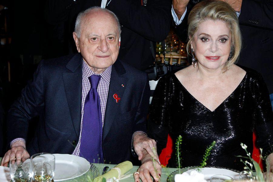 Pierre Bergé et Catherine Deneuve