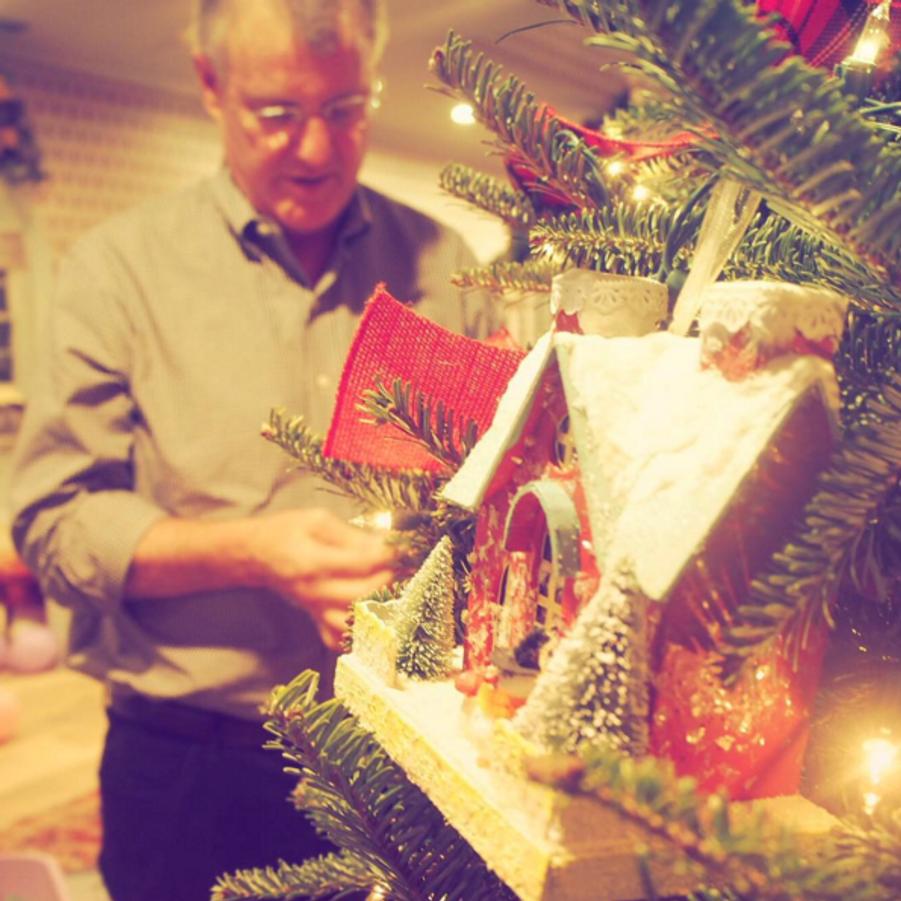 Le sapin de Taylor Swift (décoré par son père, Scott)