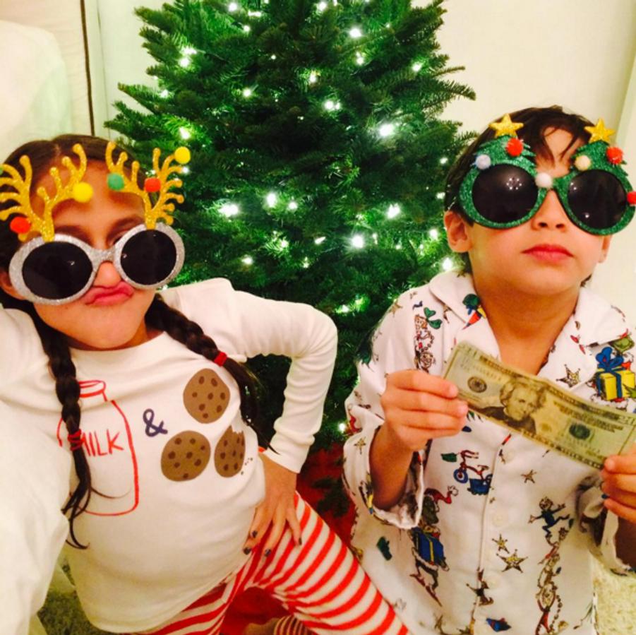 Les enfants de Jennifer Lopez