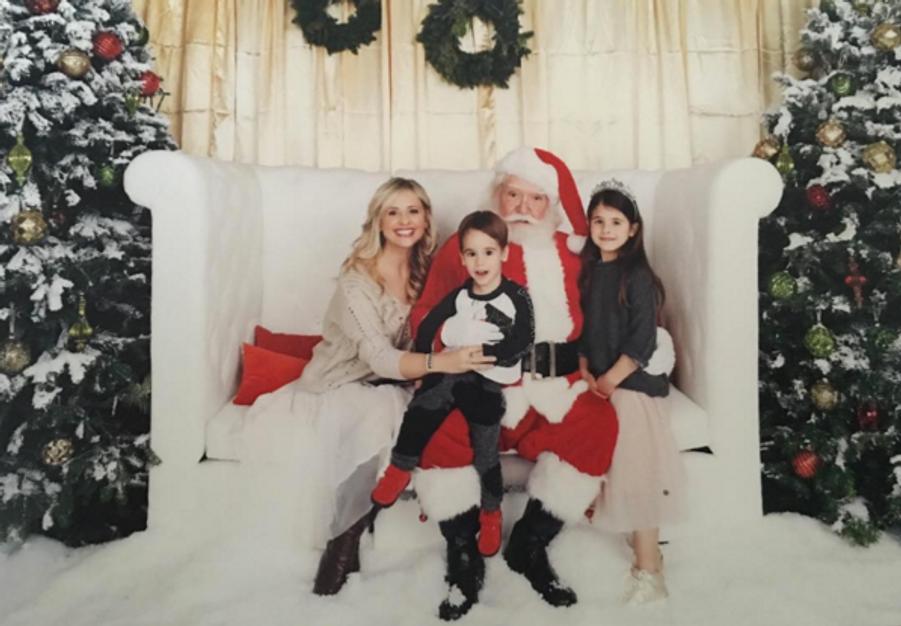 Sarah Michelle Gellar et ses enfants, Rocky et Charlotte