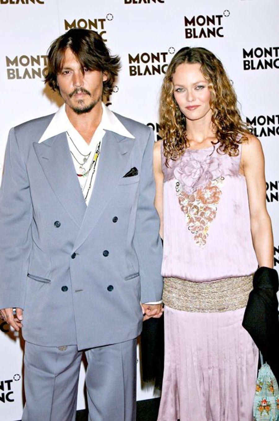 Johnny Depp et Vanessa Paradis se sont fréquentés entre 1998 et 2012