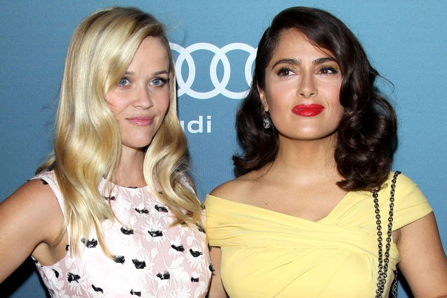 Reese Witherspoon et Salma Hayek