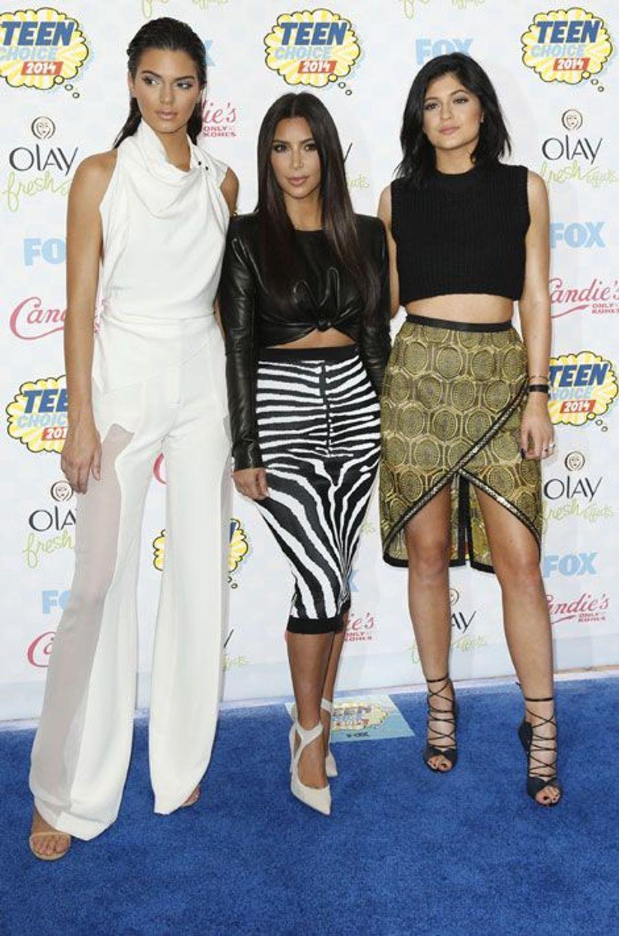 Kim Kardashian et ses soeurs Kendall et Kylie