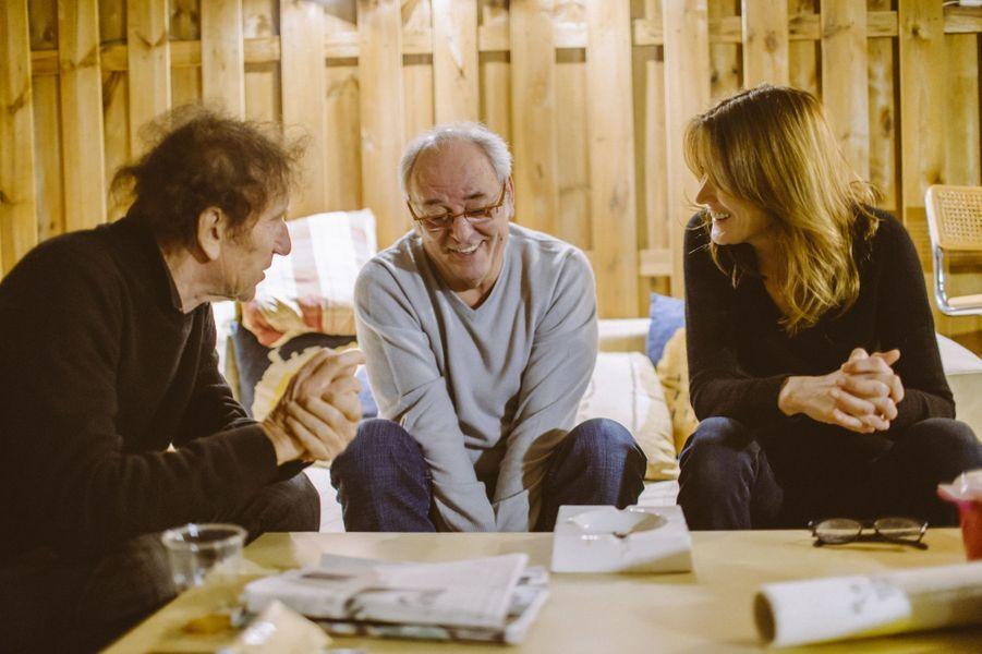 Les artistes étaient réunis dimanche pour participer aux répétitions du gala de l'Association pour la Recherche sur Alzheimer