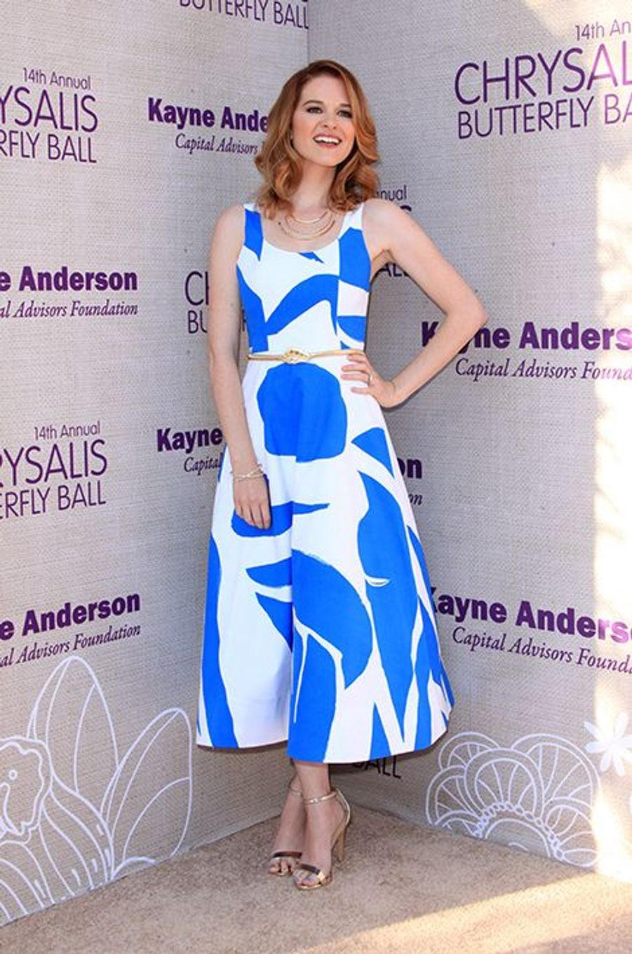 Sarah Drew («Grey's Anatomy») à Los Angeles le 6 juin 2015