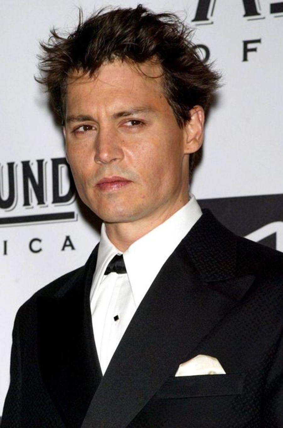 Johnny Depp - avant