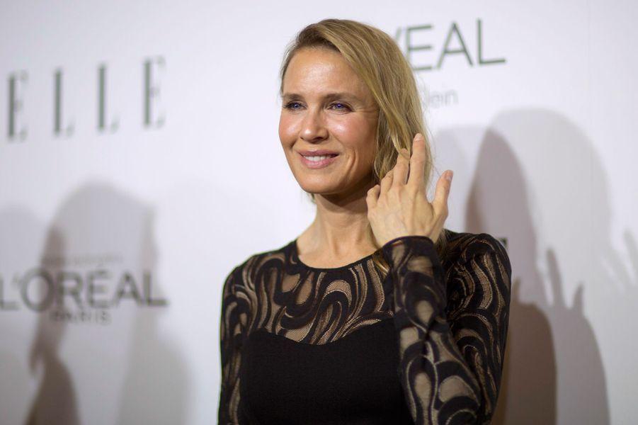 Renée Zellwegger - après