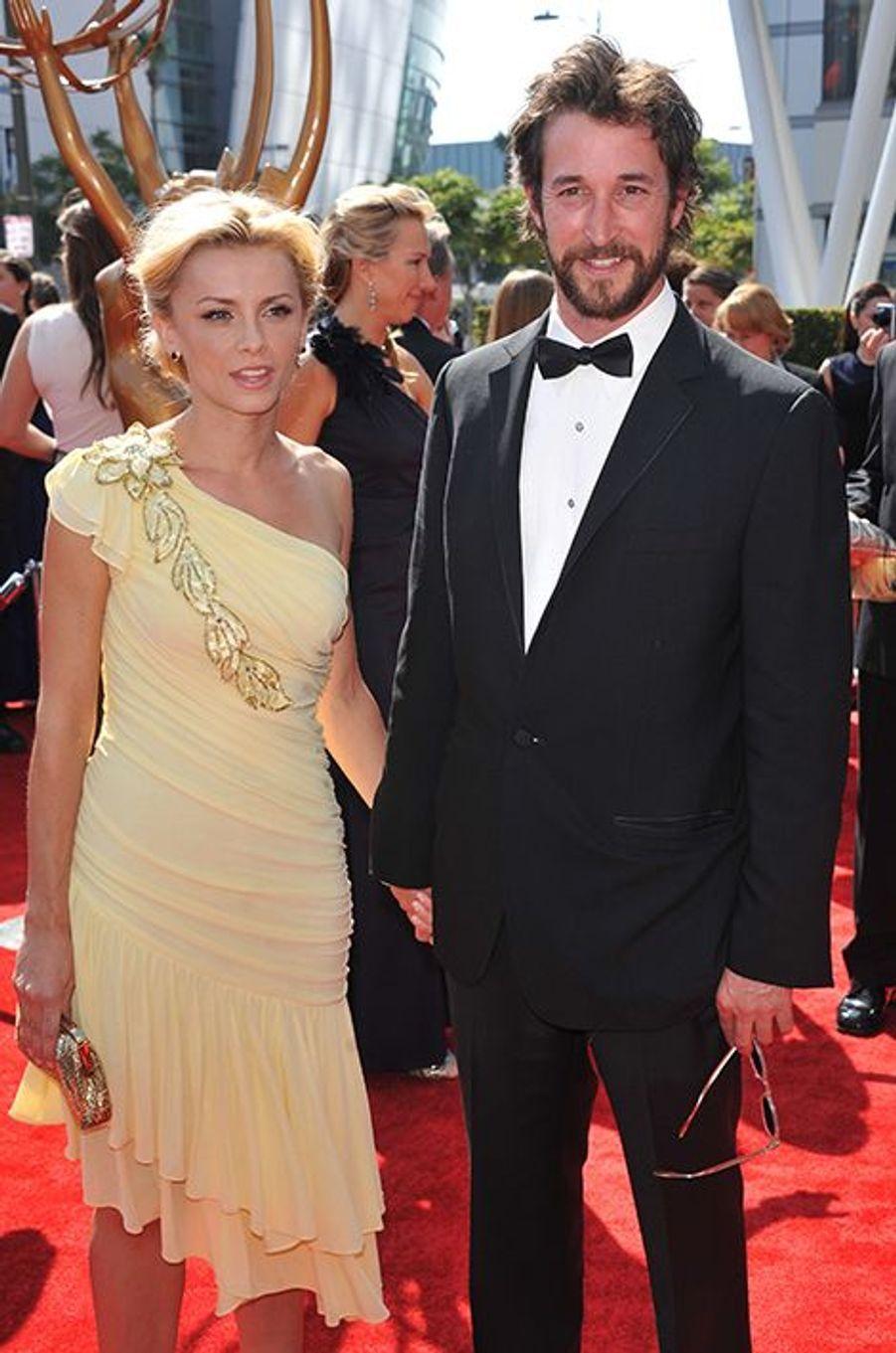 """Le beau gosse de la série """"Urgences"""" a épousé sa compagne depuis trois ans, Sara Wells, en juin."""