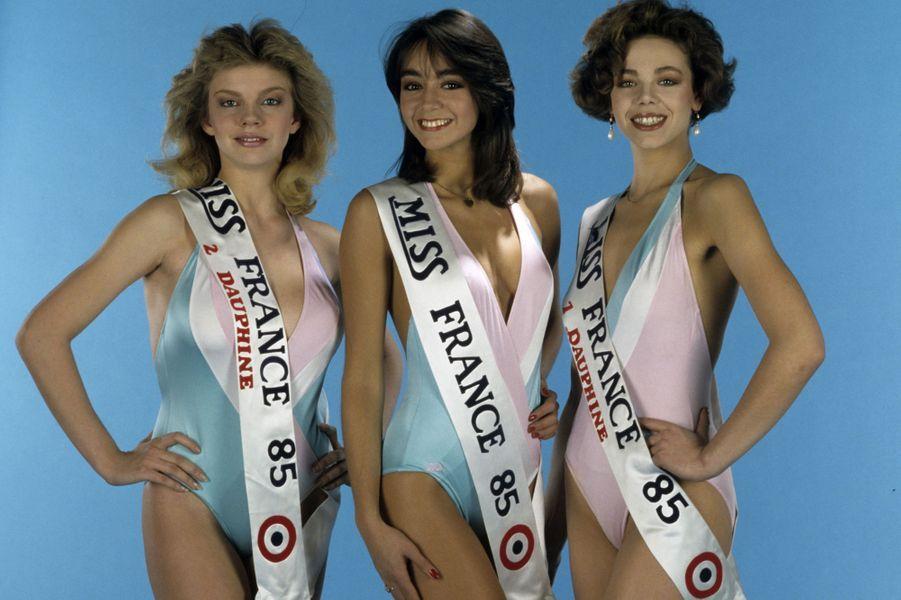 Française d'origine Libanaise, la 55e Miss France a été élue le 28 décembre 1984 à l'Hôtel Montparnasse-Park, à Paris.