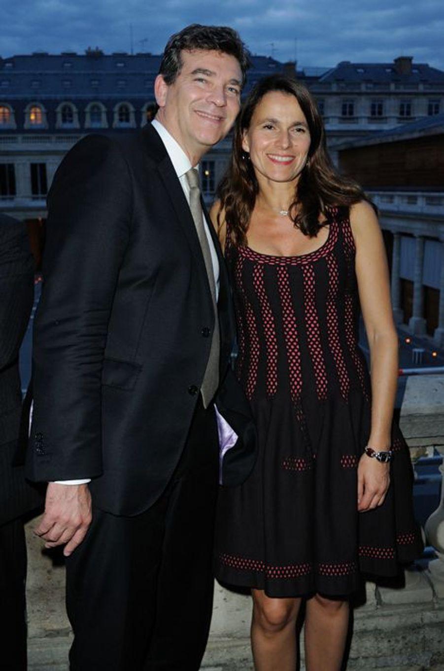 Aurélie Filippetti et Arnaud Montebourg ont accueilli une petite fille prénommée Jeanne en septembre 2015