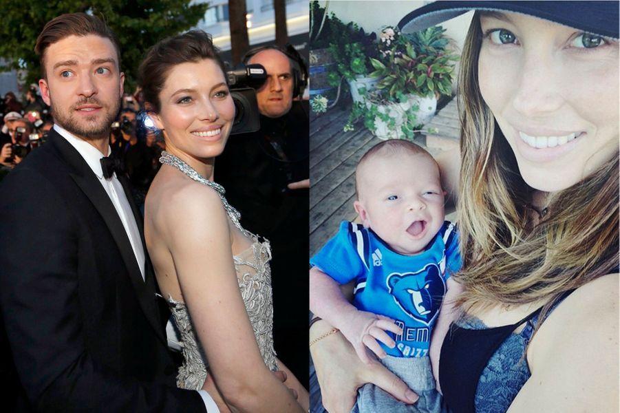 Justin Timberlake et Jessica Biel ont accueilli un petit garçon prénommé Silas Randall en avril 2015.