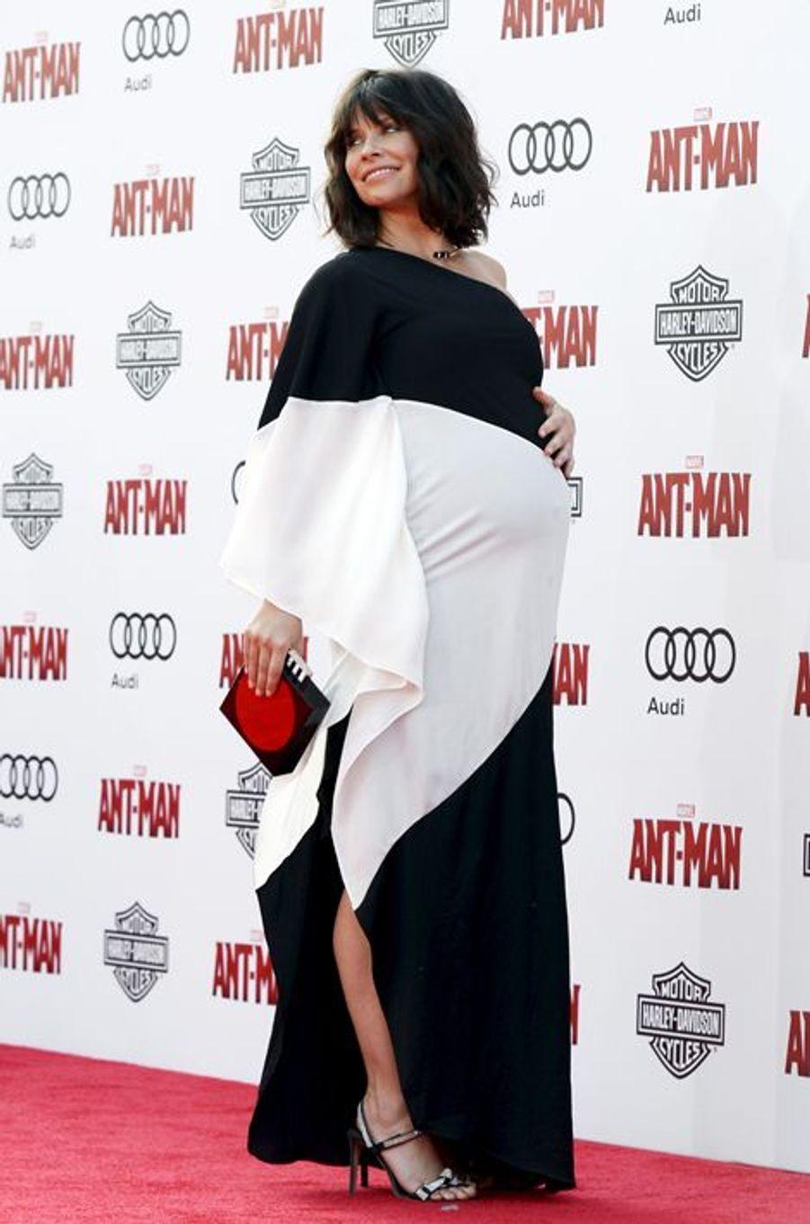 L'actrice Evangeline Lilly et Norman Kali ont accueilli leur deuxième enfant en octobre 2015.