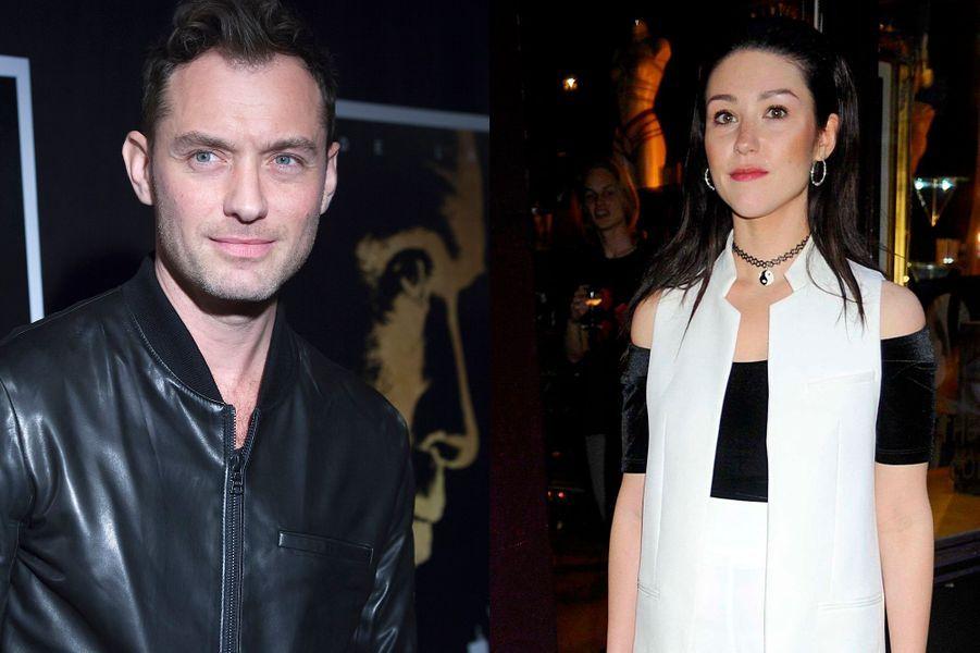 L'ancienne petite amie de l'acteur Jude Law, Catherine Harding, a accouché d'une petite fille en mars 2015.