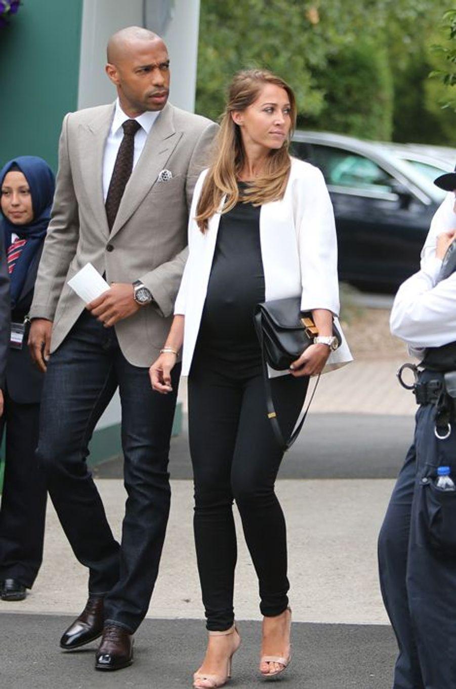 Thierry Henry et Andrea Rajacic ont accueilli leur deuxième enfant, une petite fille prénommée Téa, en août 2015.