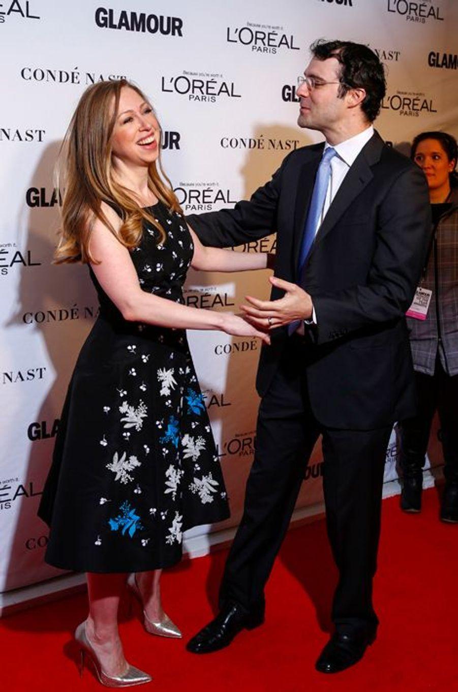 Chelsea Clinton et son mari Marc Mezvinsky attendent leur deuxième enfant, prévu pour septembre 2016.