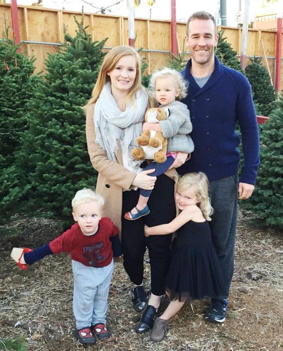 L'acteur James Van Der Beek et sa femme Kimberly attendent leur quatrième enfant.