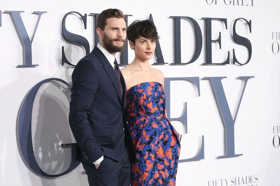 L'acteur Jamie Dornan et sa femme, Amelia Warner, attendent leur deuxième enfant, prévu pour début 2016.
