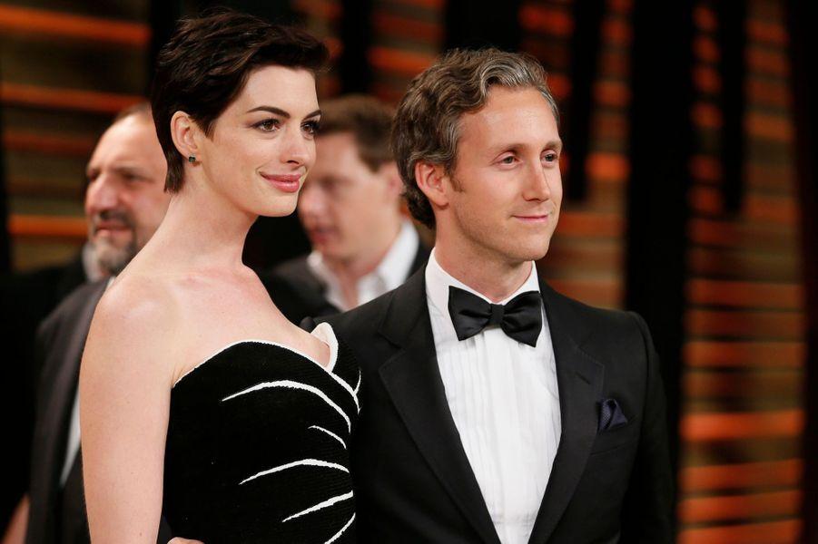 L'actrice oscarisée Anne Hathaway et son époux, Adam Shulman, attendent leur premier enfant, prévu pour le printemps.
