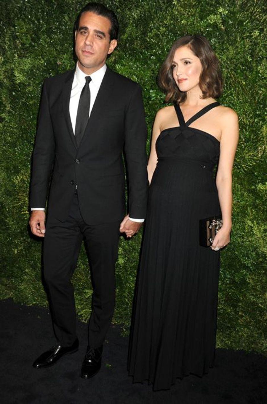 L'actrice Rose Byrne et son compagnon Bobby Cannavale attendent leur premier enfant ensemble.