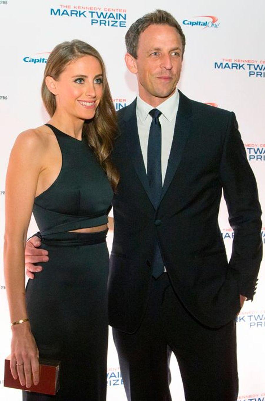 L'humoriste américain Seth Meyers et sa femme Alexi Ashe attendent leur premier enfant.