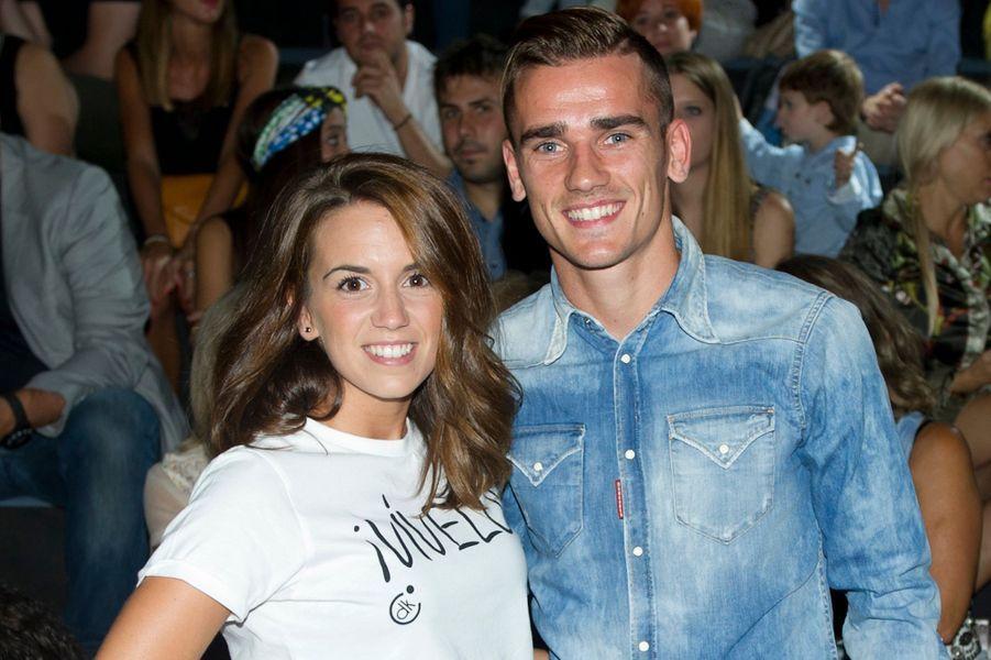 Le footballeur Antoine Griezmann et sa compagne, l'Espagnole Erika Choperena, attendent leur premier enfant.