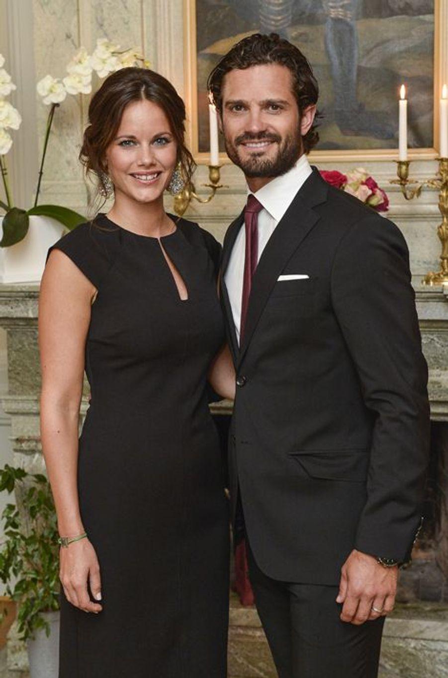Le prince Carl Philip et Sofia de Suède attendent leur premier enfant, prévu pour le mois d'avril.