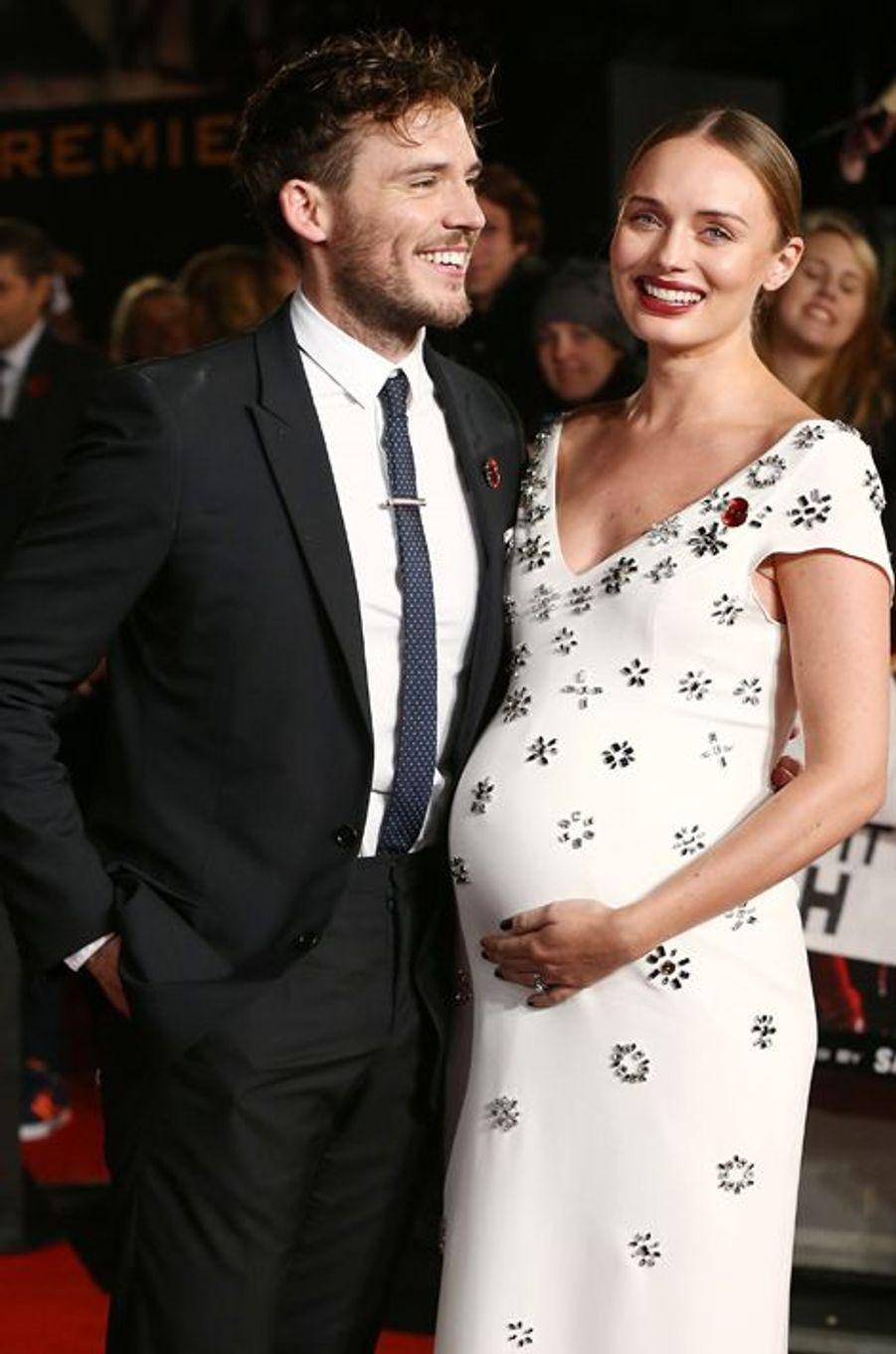 Sam Claflin du film «Hunger Games» et sa femme Laura Haddock attendent leur premier enfant.