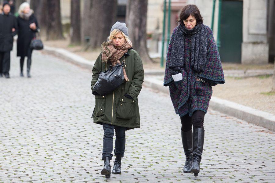 Marina Foïs et Clotilde Hesme