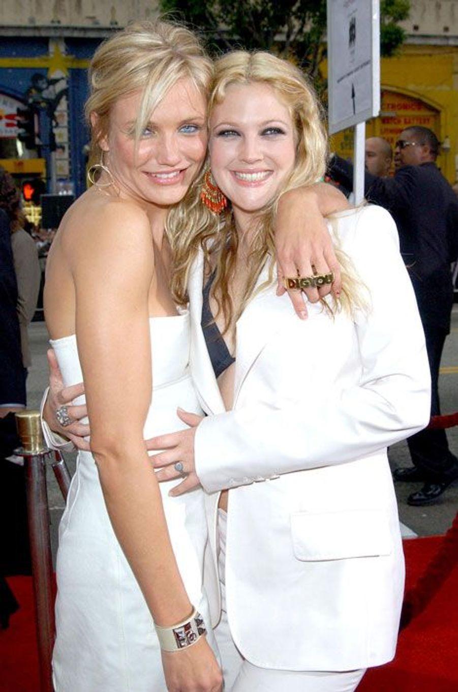 Depuis le tournage du remake de «Drôles de Dames», en 2000, Drew Barrymore et Cameron Diaz sont inséparables. C'est même la dernière qui a organisé la baby shower de sa copine lors de sa première grossesse.