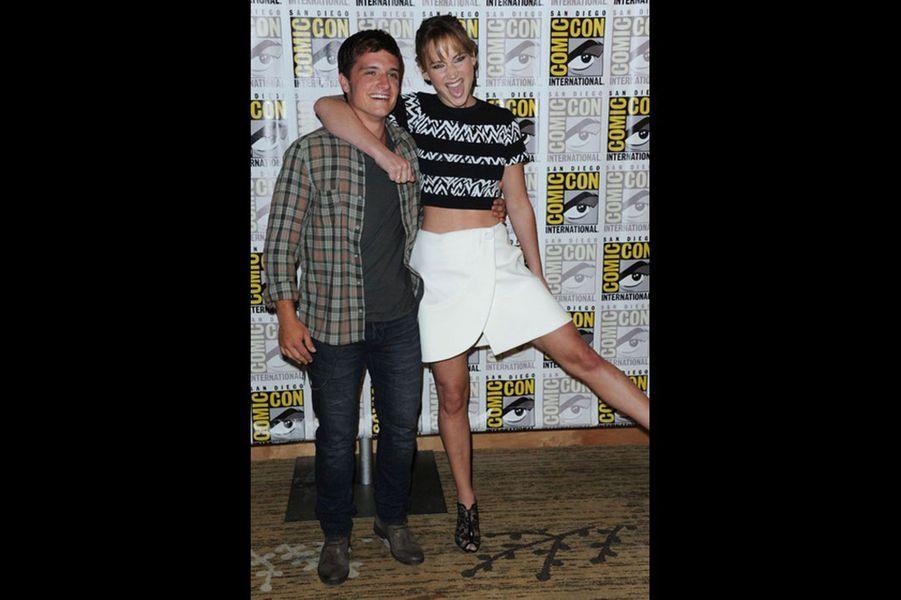 Les deux héros de la saga «Hunger Games» ne se connaissent pas depuis très longtemps mais sont déjà les meilleurs amis du monde. En interview, ils ne cachent pas leur complicité, répétant sans cesse à quel point ils s'apprécient.