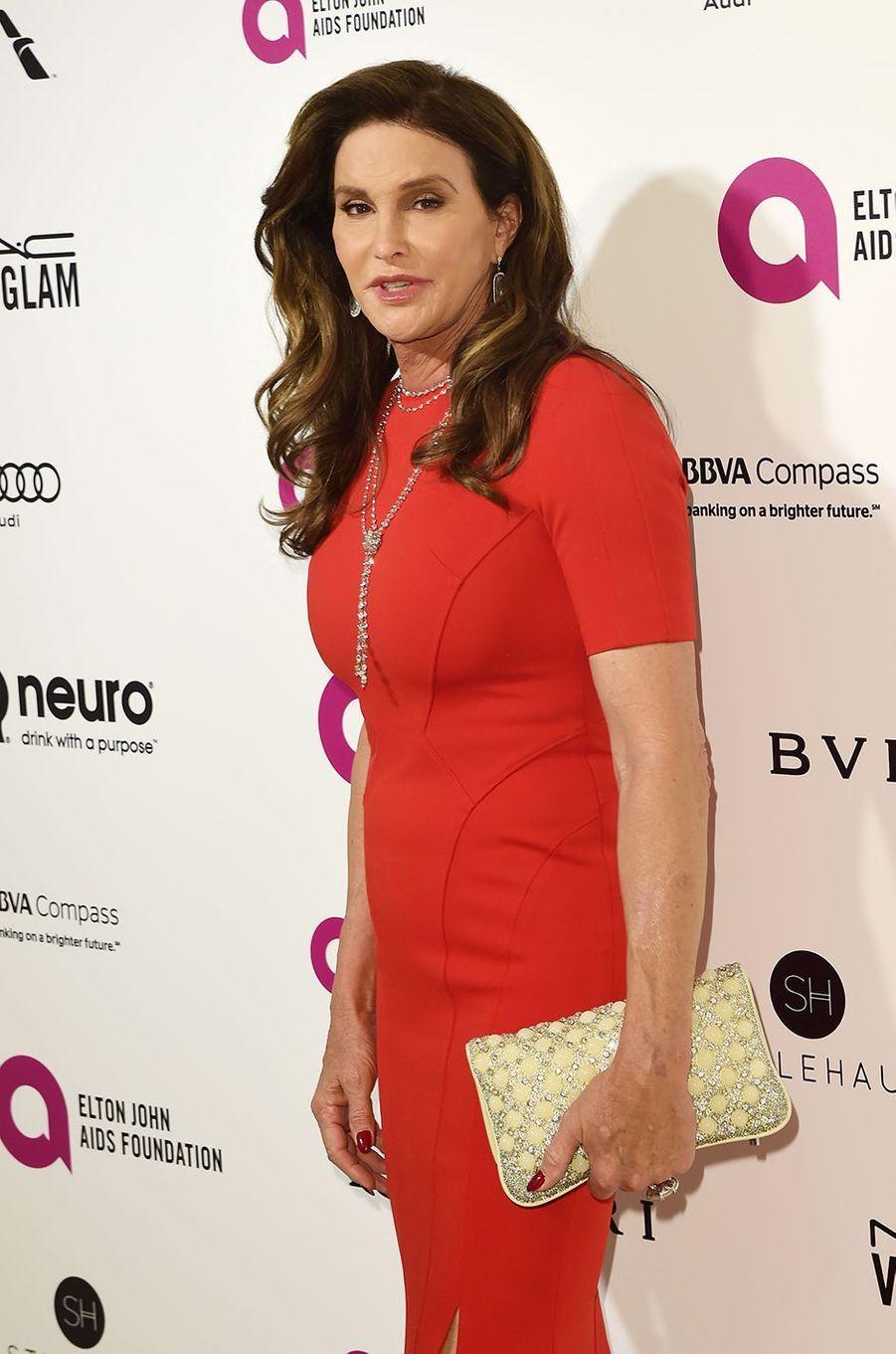 Caitlyn Jenner au gala organisé au profit de la recherche contre le Sida à Los Angeles le 28 février 2016