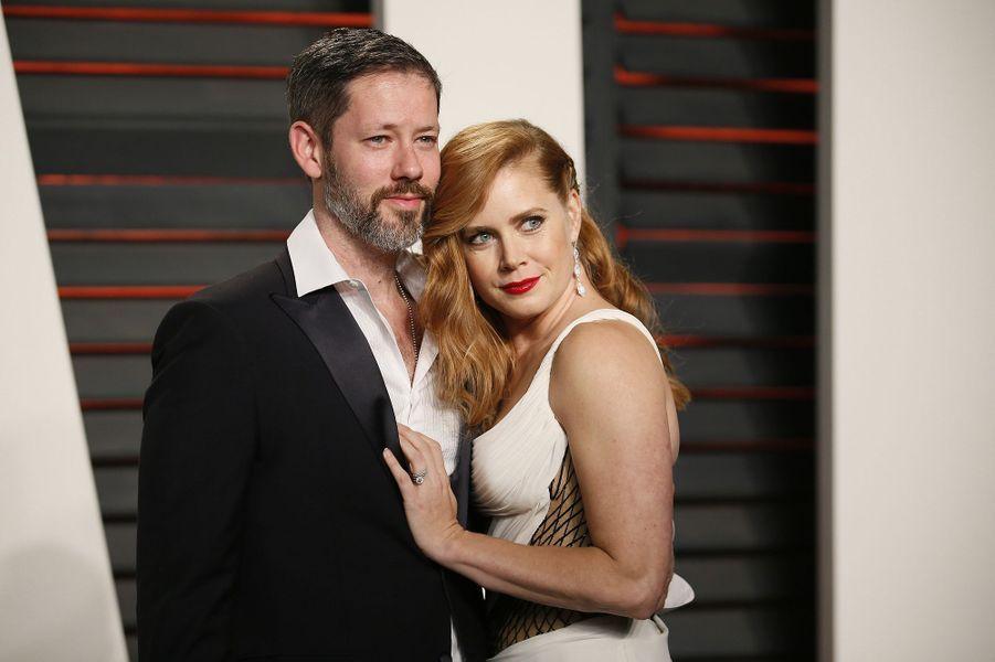 """Darren Le Gallo et Amy Adams à l'after-party """"Vanity Fair"""" le 28 février 2016 à Los Angeles"""