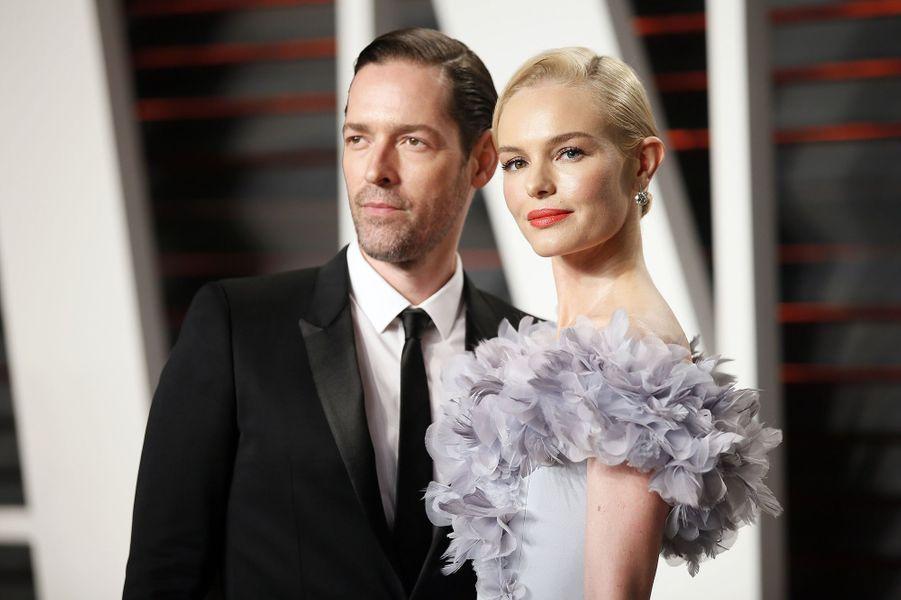 """Michael Polish et Kate Bosworth à l'after-party """"Vanity Fair"""" le 28 février 2016 à Los Angeles"""