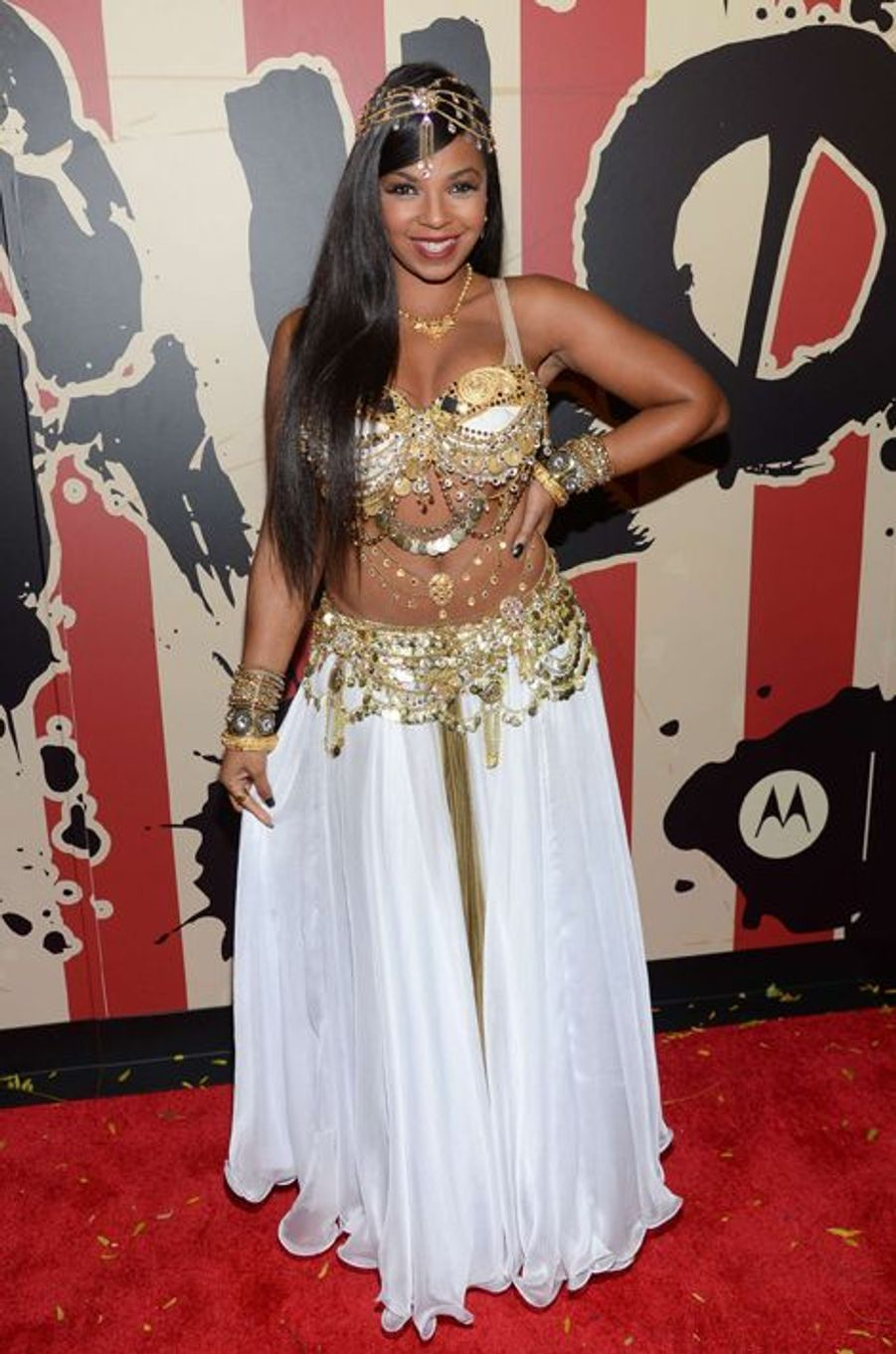 Ashanti à New York le 31 octobre 2014