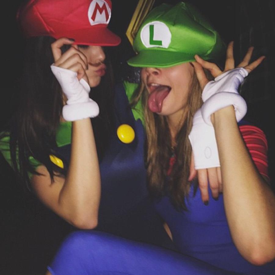 Cara Delevingne et Kendall Jenner