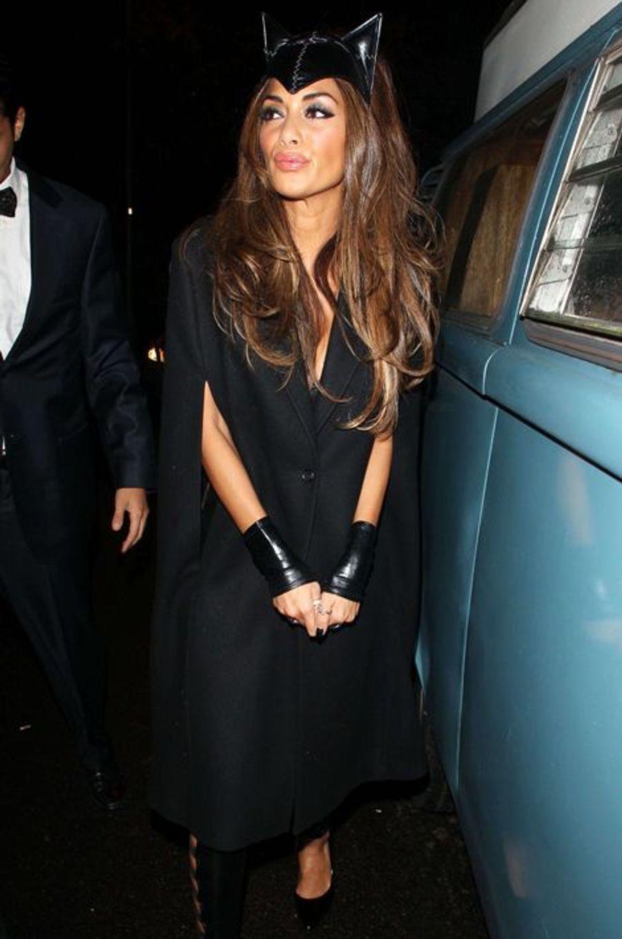 Nicole Scherzinger à Londres le 31 octobre 2014