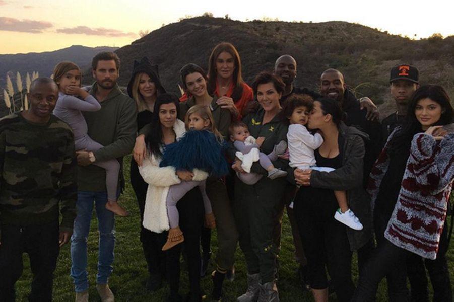 La famille Kardashian-Jenner