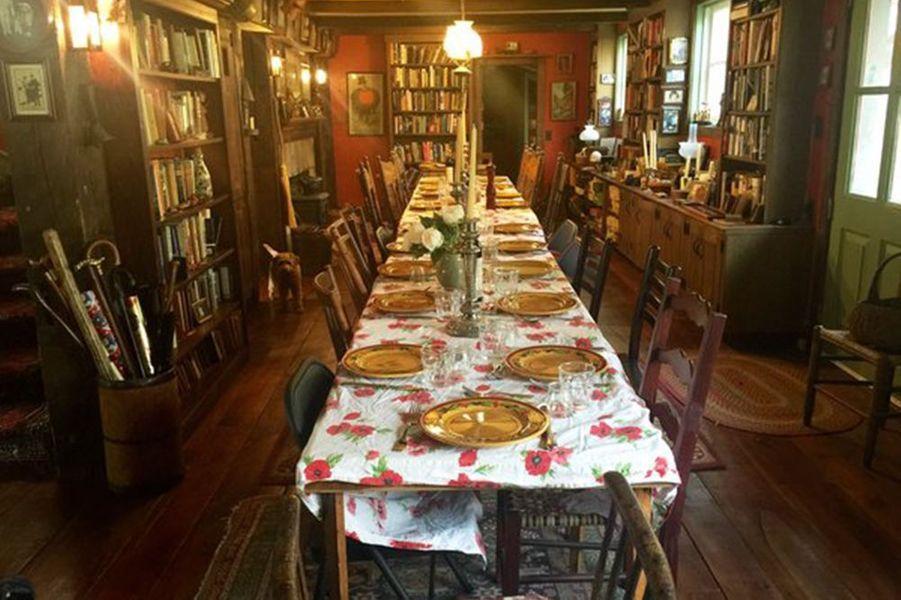 La table de Mia Farrow