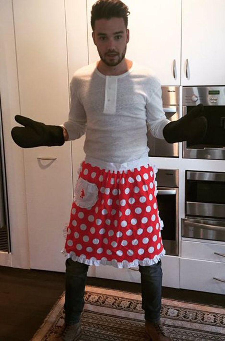 Liam Payne aux fourneaux (One Direction)