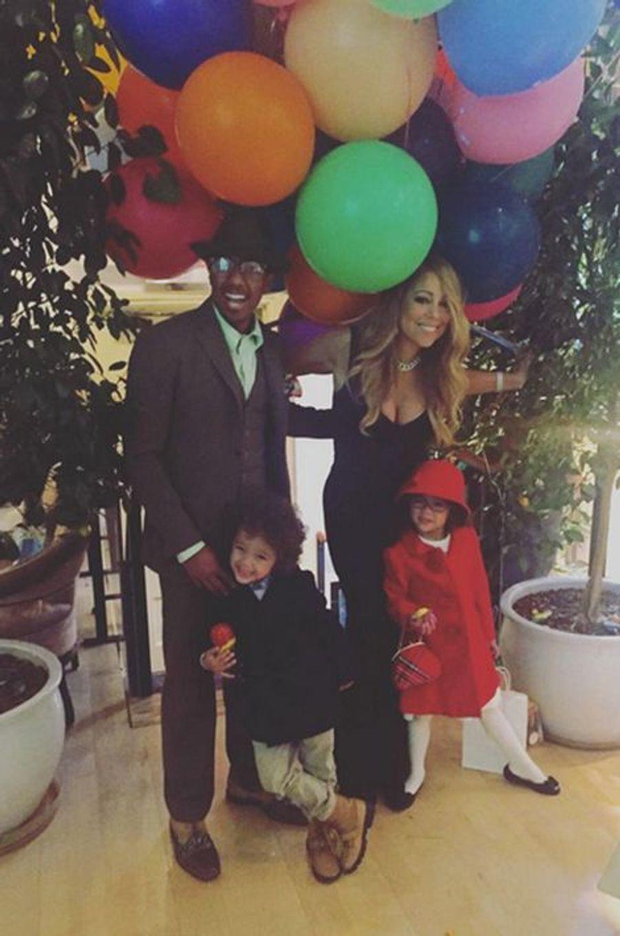 Nick Cannon et Mariah Carey réunis pour leurs jumeaux