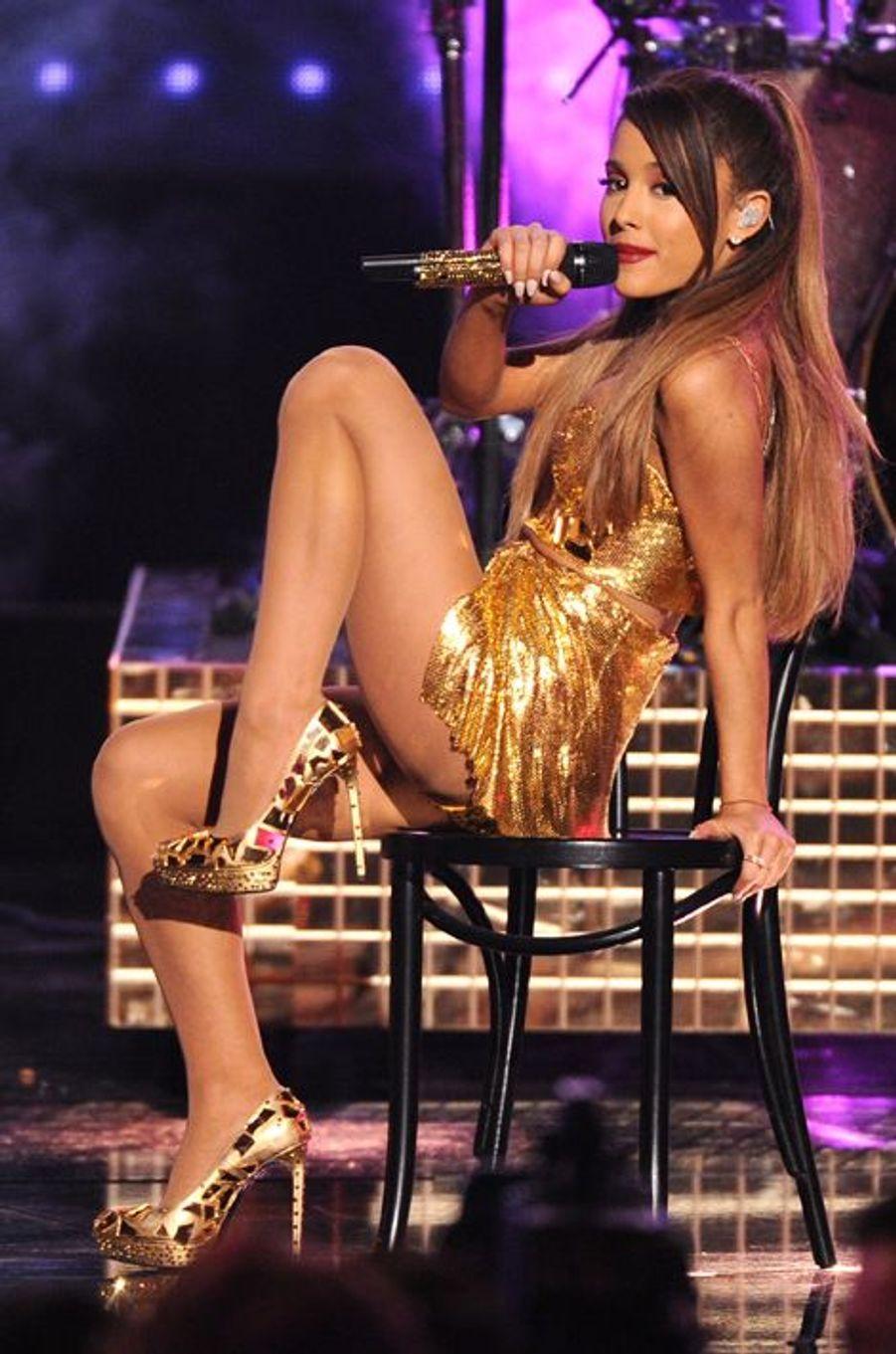 Ariana Grande à Los Angeles le 23 novembre 2014