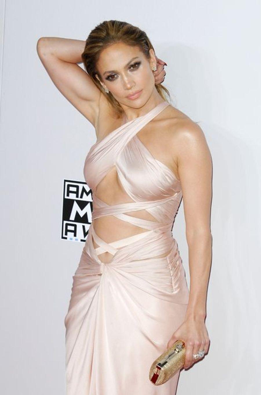 Jennifer Lopez à Los Angeles le 23 novembre 2014