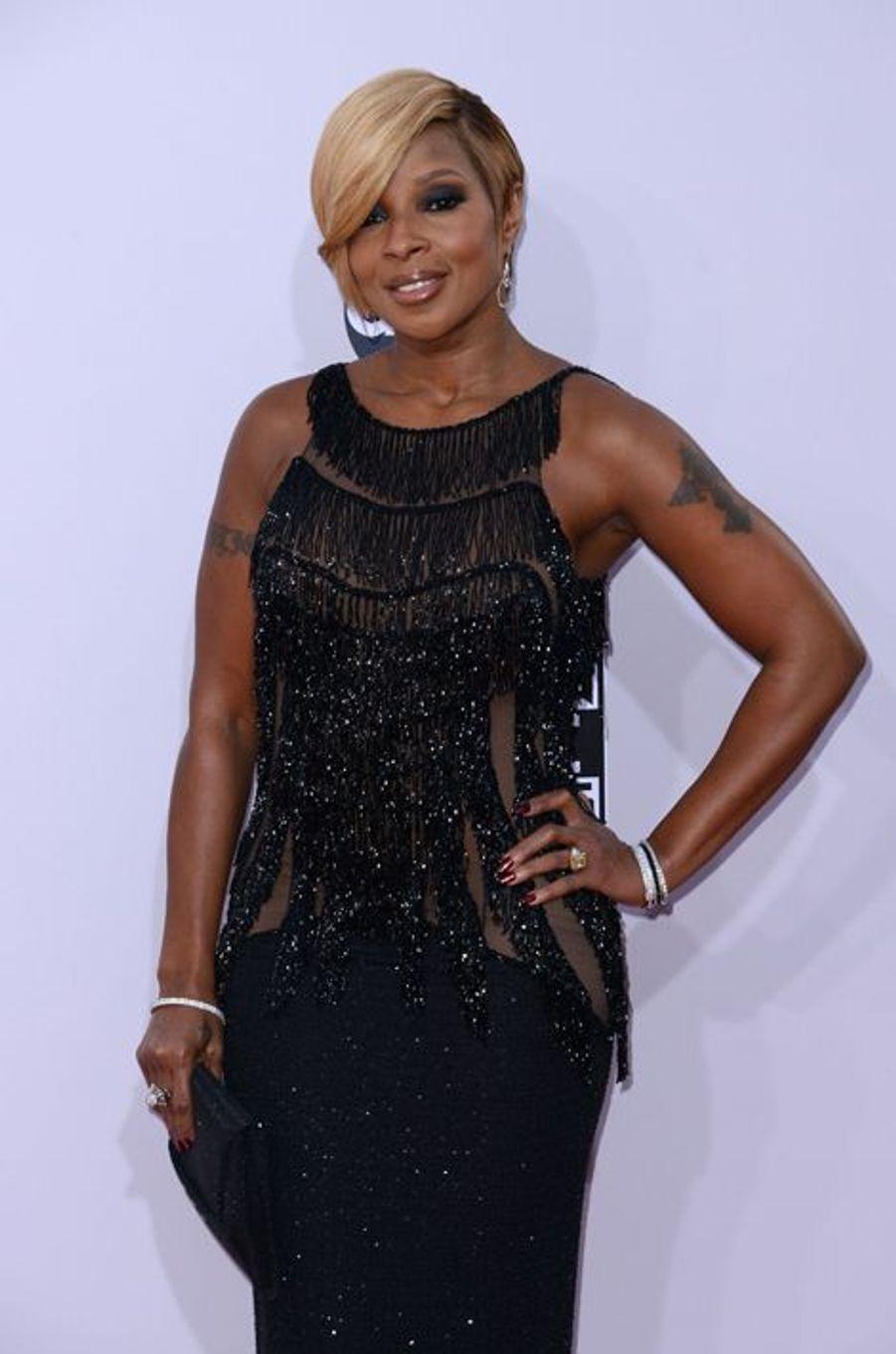 Mary J. Blige à Los Angeles le 23 novembre 2014