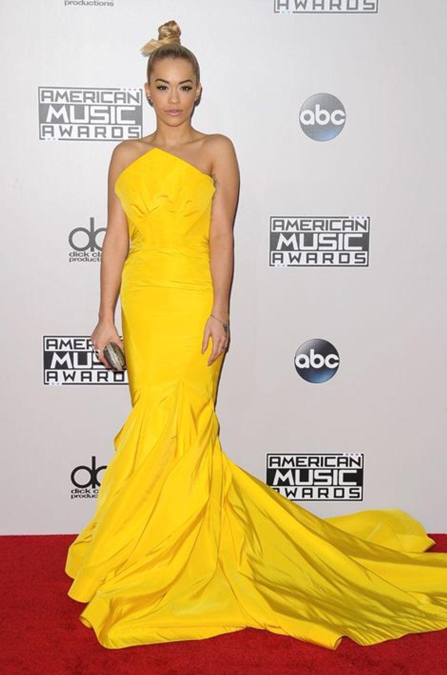Rita Ora à Los Angeles le 23 novembre 2014