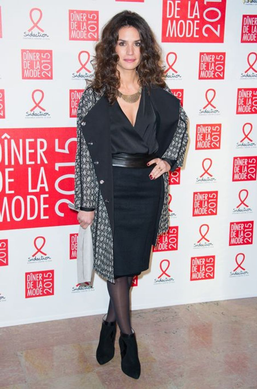 Barbara Cabrita à Paris le 29 janvier 2015