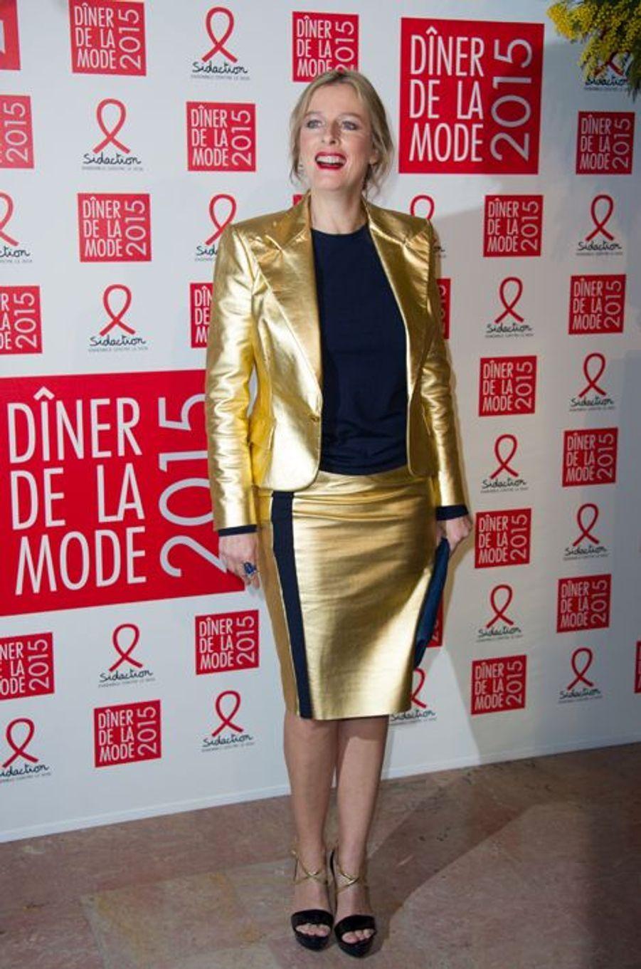 Karin Viard à Paris le 29 janvier 2015
