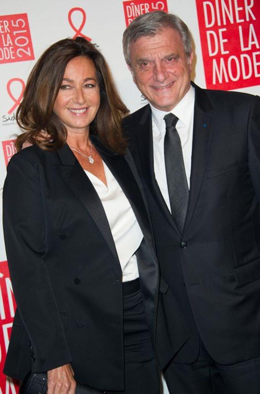 Katia et Sidney Toledano à Paris le 29 janvier 2015