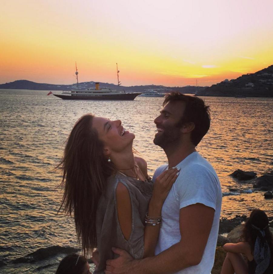 Alessandra Ambrosio et son fiancé Jamie Mazur