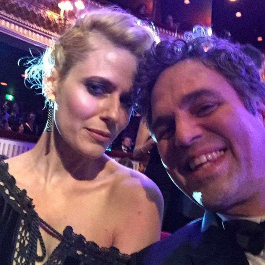 Mark Ruffalo et son épouse Sunrise